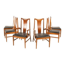 Unbranded - Consigned Mid Century Danish Modern Walnut Dining Chairs - • Mid Century | Modern Danish