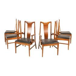 Unbranded - Consigned Mid Century Danish Modern Walnut Dining Chairs - • Mid Century | Modern Danish