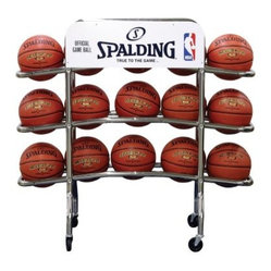 Spalding Replica Pro Basketball Rack