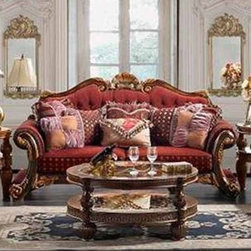 Homey Design - Besses Sofa - HD-257-S - Besses Collection Sofa