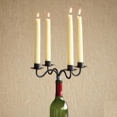 eclectic candles and candle holders by Sundance Catalog