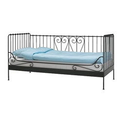 Meldal Daybed frame - Simple flourishes keep this day bed fresh and stylish.