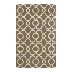Kaleen - Kaleen Revolution Collection REV03-82 2' x 3' Lt. Brown - The color Revolution is here! Trendy patterns with a fashion forward twist of the hottest color combinations in a rug collection today. Transform a room with the complete color makeover you were hoping for and leaving your friends jealous at the same time! Each rug is hand-tufted and hand-carved for added texture in India, with a 100% soft luxurious wool.