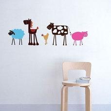 Modern Kids Wall Decor by Etsy