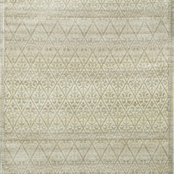 "Loloi Rugs - Loloi Rugs Nyla Collection - Slate/Gold, 7'-6"" x 10'-5"" - The power-loomed Nyla Collection from Egypt offers a range of subtle, sophisticated looks that enhance an interior space at a value-driven price. Made of 100% viscose, Nyla features soft color combinations with touches of mocha, plum, and mist throughout the selection."