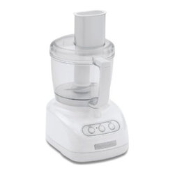 KitchenAid 7-Cup Food Processor, White - I inherited my grandmother's food processor, and it's become an indispensable tool in my kitchen. I've used it for making several large batches of pesto and for grating pounds of carrots for carrot cake, among other things.