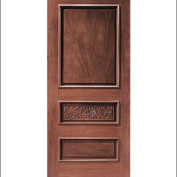 Carved and Mansion Entry Doors Model # 1 - Our Carved and Mansion doors are hand carved by master craftsman.  They will certainly add to the wow factor of any entrance exterior or interior.  The doors are Mahogany and can be stained and finished in a variety of colors to complement your homes beauty.  You may also like our International collection which is inspired by world design.