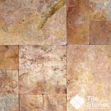 Traditional Wall And Floor Tile by Tile-Stones