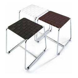 Modo Bath - Harmony 506 Stool in Chrome - Harmony 506 Stool in Chrome and Seat Black