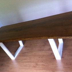 Live Edge Furniture - White Oak Table