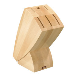 """Fissler - Beechwood Knife Block - """"As pretty as they are practical: The accessories."""
