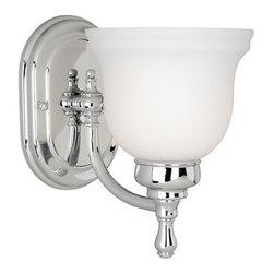 Vaxcel Lighting - Vaxcel Lighting CL-VLU001 Cologne 1 Light Bathroom Sconce - Features: