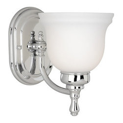 Vaxcel Lighting - Vaxcel Lighting CL-VLU001 Cologne 1 Light Bathroom Sconce - Features: