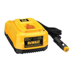 Dewalt - Charger 12V Auto Use -7.2V-18V - Heavy duty charger is compatible with 7.2V-18V NiCd/NiMH/Li-Ion DeWalt batteries (except 'Univolt'), charge time of 1 hour or less, automatic shut off protects excessive discharge of the vehicle's battery as well.          This item cannot be shipped to APO/FPO addresses.  Please accept our apologies