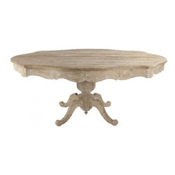 Shabby Chic Living - Aidan Gray The Gage Dining Table.