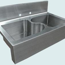 Modern Kitchen Sinks by Handcrafted Metal
