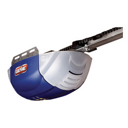 Genie - Genie Half Horsepower Garage Door Opener - This Genie chain drive garage door opener features a  1/2 horsepower DC motor for easy lifting of heavy doors up to 500 pounds and 7-feet tall.  The chain drive offers long lasting reliability and smooth operation.