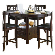 Counter Height Entry Table : Pedestal Counter Height Dining Table Dining Tables: Find Square and ...