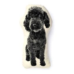 Ross Menuez Poodle Mini Pillow - Ross Menuez Poodle Mini Pillow