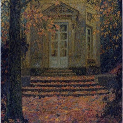 "Art MegaMart - Henri Le Sidaner Pavilion of Music in Autumn - 20"" x 25"" Premium Canvas Print - 20"" x 25"" Henri Le Sidaner Pavilion of Music in Autumn premium canvas print reproduced to meet museum quality standards. Our museum quality canvas prints are produced using high-precision print technology for a more accurate reproduction printed on high quality canvas with fade-resistant, archival inks. Our progressive business model allows us to offer works of art to you at the best wholesale pricing, significantly less than art gallery prices, affordable to all. We present a comprehensive collection of exceptional canvas art reproductions by Henri Le Sidaner."