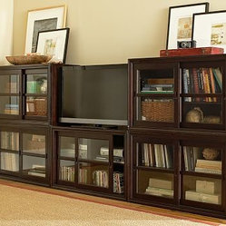 Winslow Small Media Suite, Espresso stain