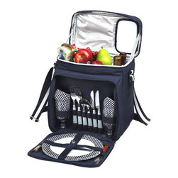 Picnic at Ascot - Bold Cooler for Two - Features: