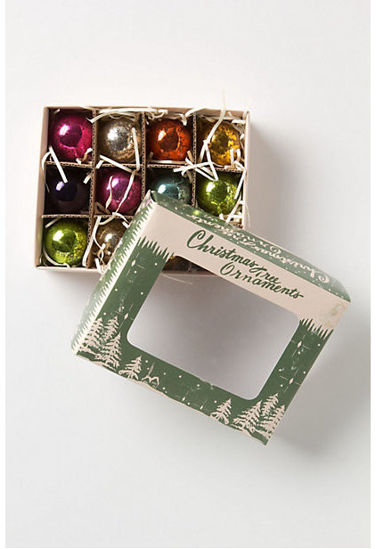 Traditional Christmas Ornaments by Anthropologie