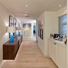 Contemporary Hall by Benning Construction Inc