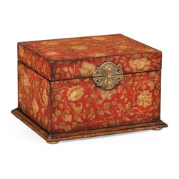 Jonathan Charles - New Jonathan Charles Box Red Red Hampton - Product Details