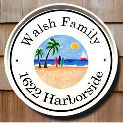 Beach House Cottage Plaques - To find out more and how to order click here: