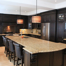 Traditional Kitchen by Sum of 3 Designs
