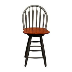 Black Windsor Swivel Counter Stool Bar Stools Amp Counter