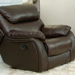 AC Pacific Furniture - Jonathan Leather Dual Reclining Chair - JYQ1129 -