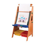 KidKraft - Easel Desk by Kidkraft - Let's get creative! Our Easel Desk gives kids a perfect place to work on their next masterpiece. Parents will be so proud watching their young artists paint, write, draw and create.