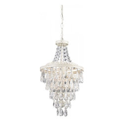 Sterling Industries - Clear Crystal Pendant Lamp - Clear Crystal Pendant Lamp