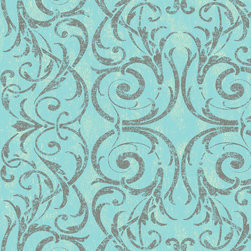 York Wallcoverings - CS8649 Wallpaper, Double Roll - Prepasted: Paste has already been applied to the back of the wallpaper and is activated with water.