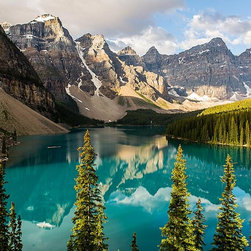 Magic Murals - Majestic Canada Mountains and Forests Wallpaper Wall Mural - Self-Adhesive - Mul - Majestic Canada Mountains and Forests Wall Mural