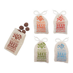 Wildflower Seed Bombs - These are for the mom who loves to garden. Make a complete gift set by including gardening tools, decorative pots, etc.