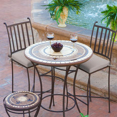 Mediterranean Outdoor Dining Sets by Iron Accents