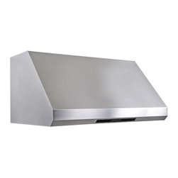"Cavaliere - Cavaliere AP238-PS85 Under Cabinet Range Hood - 36"" - Cavaliere Stainless Steel 360W Under Cabinet Range Hoods with 4 Speeds, Timer, LCD Keypad, Stainless Steel Baffle Filters, Heat Lamps & Halogen Lights."