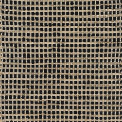 """Loloi Rugs - Loloi Rugs Porto Collection - Black, 2'-3"""" x 3'-9"""" - Casual yet sophisticated pops of color combined with natural jute are entwined into a grid-like pattern in Porto. These handwoven rugs from India are infused with cotton for softness underfoot.  The clean yet intricate pattern will add just the right layers of texture and pattern without competing with the rest of your room's interior."""