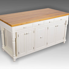 Contemporary Kitchen Islands And Kitchen Carts by Sim&Lee Products