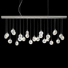 Chandeliers Bling Linear Suspension by LBL Lighting