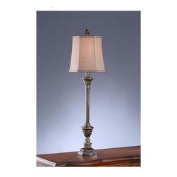 Crestview Collection - Crestview Collection CVAUP176 Shelby Buffet Lamp - Crestview Collection CVAUP176 Shelby Buffet Lamp