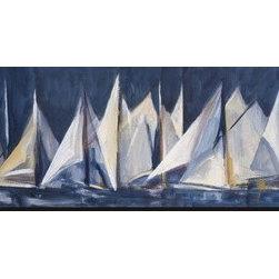 Artcom - Set Sail by Mar�a Antonia Torres - Set Sail by Mar�a Antonia Torres is a Stretched Canvas Print.