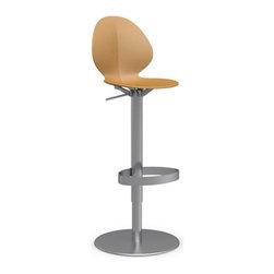 Mustard bar stools counter stools shop for barstools - Bright colored bar stools ...