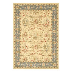 nuLOOM - nuLOOM Persian Oriental Style Rug, Beige, 3.11'x6' - Material: 100% Polypropylene
