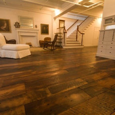Traditional Wood Flooring by Real Antique Wood Mill,LLC.