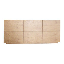 Chintaly Imports - Jessica Contemporary 3 Door Buffet - Beautiful Oak Veneer and MDF 3 door Buffet. With 3 doors and 3 shelves, it provides plenty of storage space. Light oak finish gives this piece of furniture a stylish look and feel.