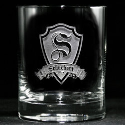 Groomsmen Gift Ideas, Engraved Best Man Gifts - Custom engraved personalized whiskey, scotch, bourbon glasses by Crystal Imagery.